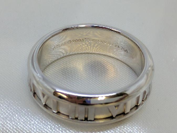 Tiffany & Co. Gent's Gold Wedding Band 18K White Gold 11.8g Size:9