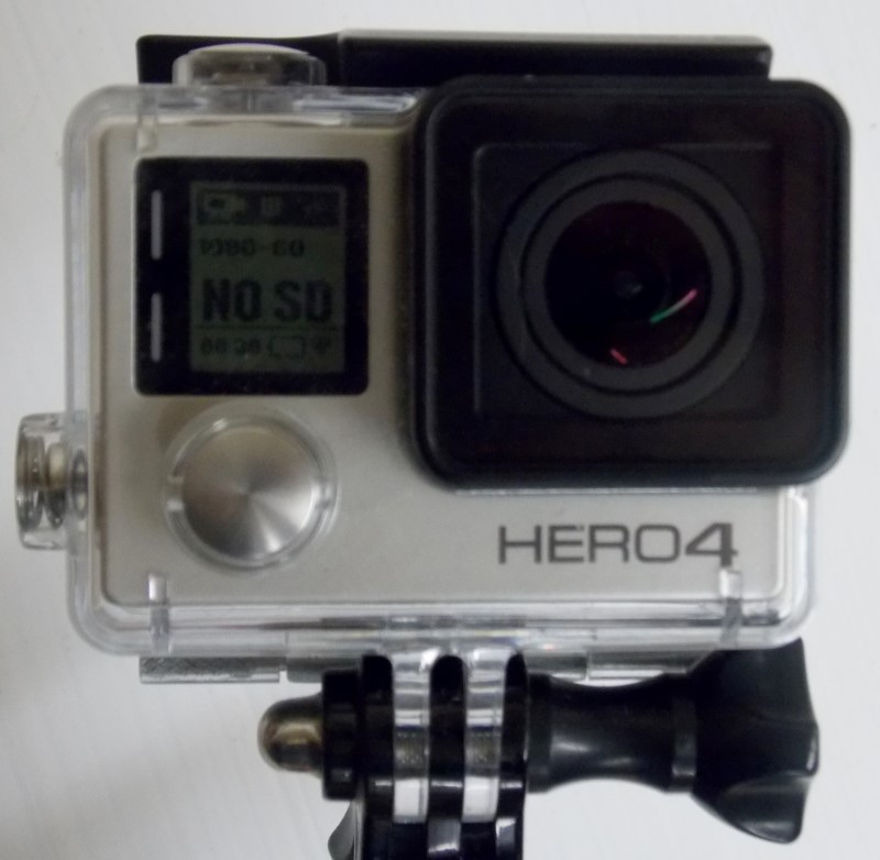 GOPRO HERO 4 SILVER EDITION WITH UK PRO POLE22
