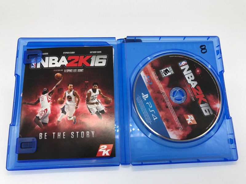 SONY PLAYSTATION 4 VIDEO GAME - NBA 2K 16