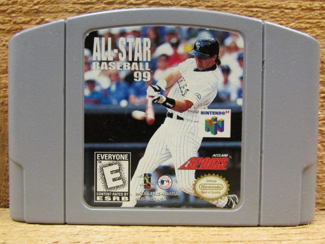 NINTENDO Nintendo 64 Game ALL-STAR BASEBALL 99 NINTENDO 64