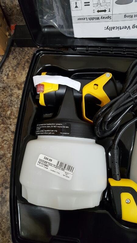 Wagner Flexio 590 120 Volt Hand Held Paint Sprayer Kit