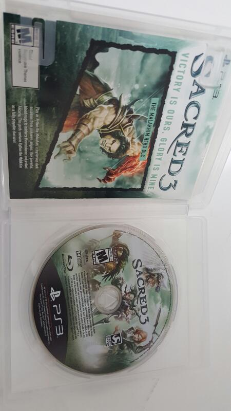 SONY Sony PlayStation 3 Game SACRED 3