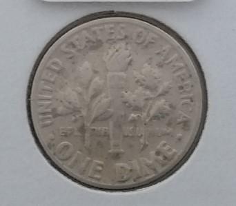 1970 D Denver Mint Roosevelt Dime 10c Double Die Error Coin