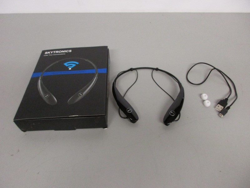 Skytronics S 980 Wireless Cell Phone Headset Very Good Mcbride Music Pawn Denton Tx