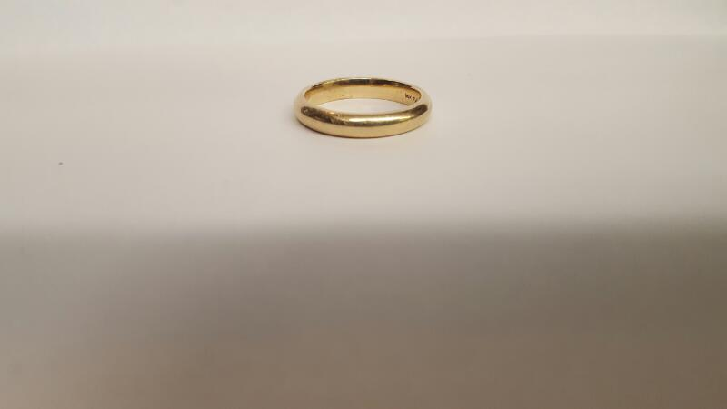 Lady's Gold Ring 14K Yellow Gold 5.84g Size:9.3