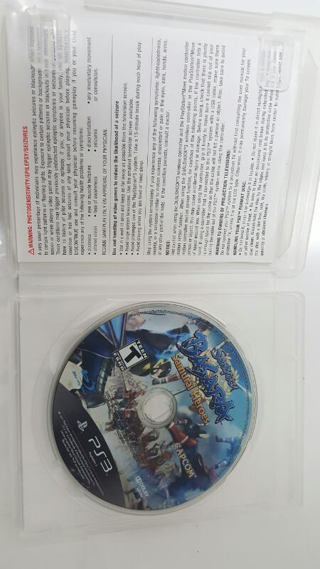 Sony PlayStation 3 Game SENGOKU BASARA SAMURAI HEROES - PS3