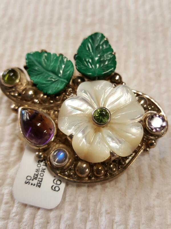 PENDANT/CHARMS NEW JEWELRY JEWELRY JEWELRY SAJEN; PENDANT/BROACH MOTHER OF PEARL