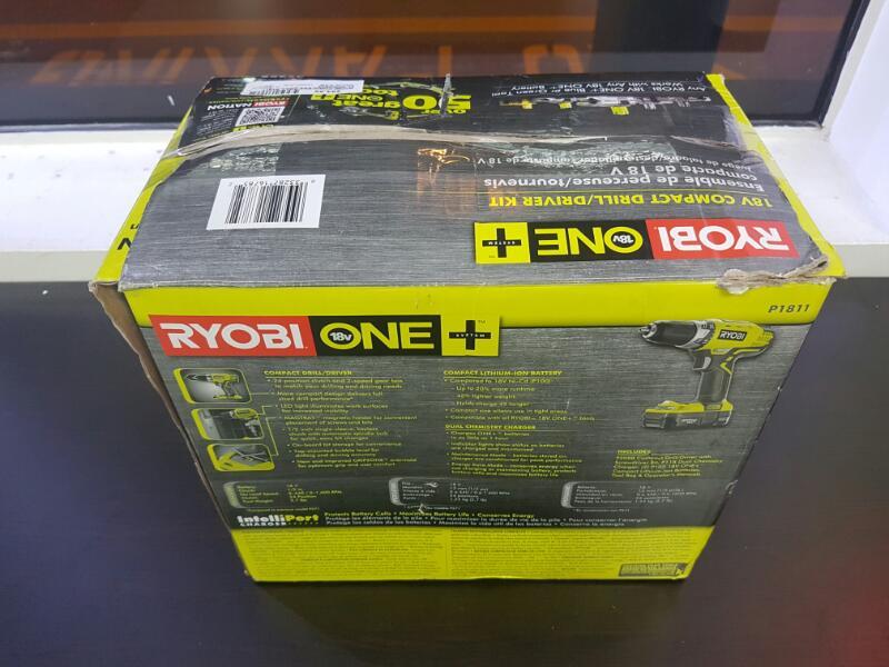 RYOBI Cordless Drill P1811