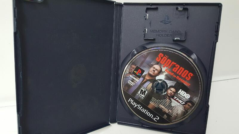 SONY Sony PlayStation 2 Game THE SOPRANOS ROAD TO RESPECT
