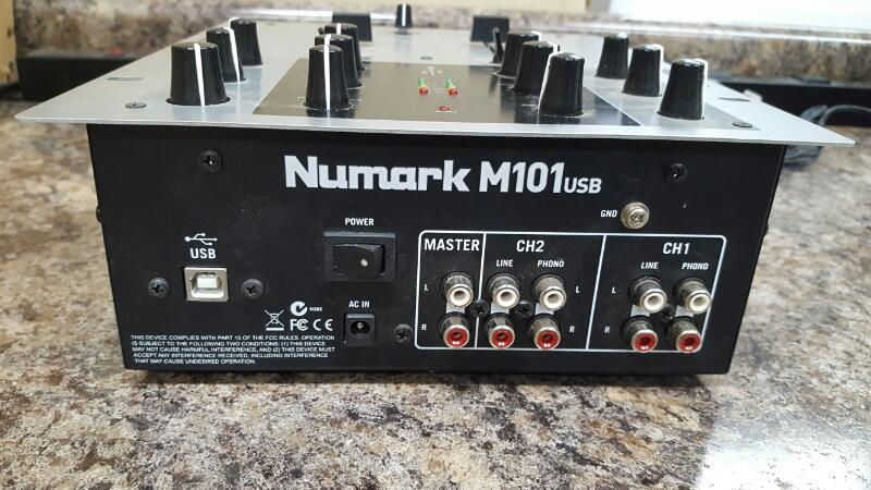 Numark M101USB 2-Channel All-Purpose DJ Mixer