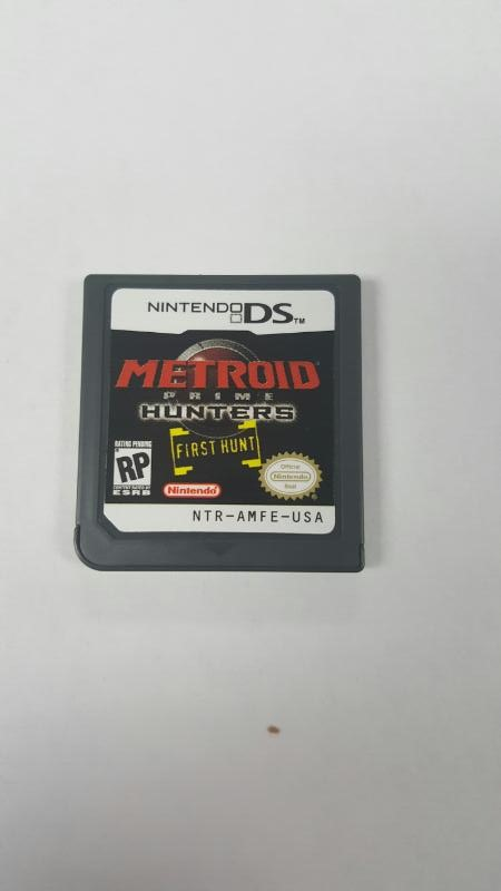 Metroid Prime Hunters: First Hunt (Nintendo DS) *CART ONLY*