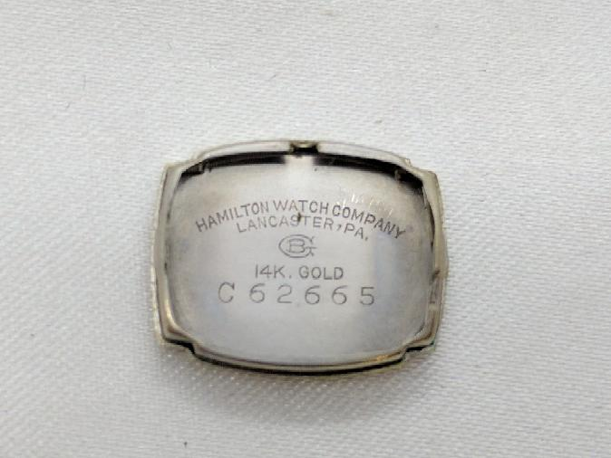 Hamilton Ladies 14k Wristwatch .16 TCW of Diamonds