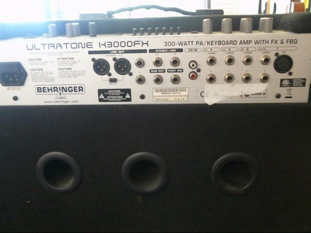BEHRINGER Amplifier/Tube Amp K3000FX_ULTRA
