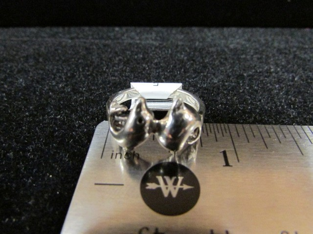 Lady's Silver Ring 925 Silver 3.7g Size:6