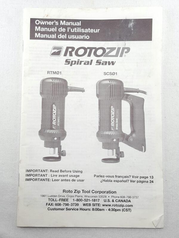 ROTOZIP Router SCS01