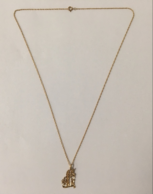 "18"" Gold Chain 14K Yellow Gold 1.8g"