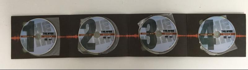 DVD BOX SET THE WIRE 4TH SEASON