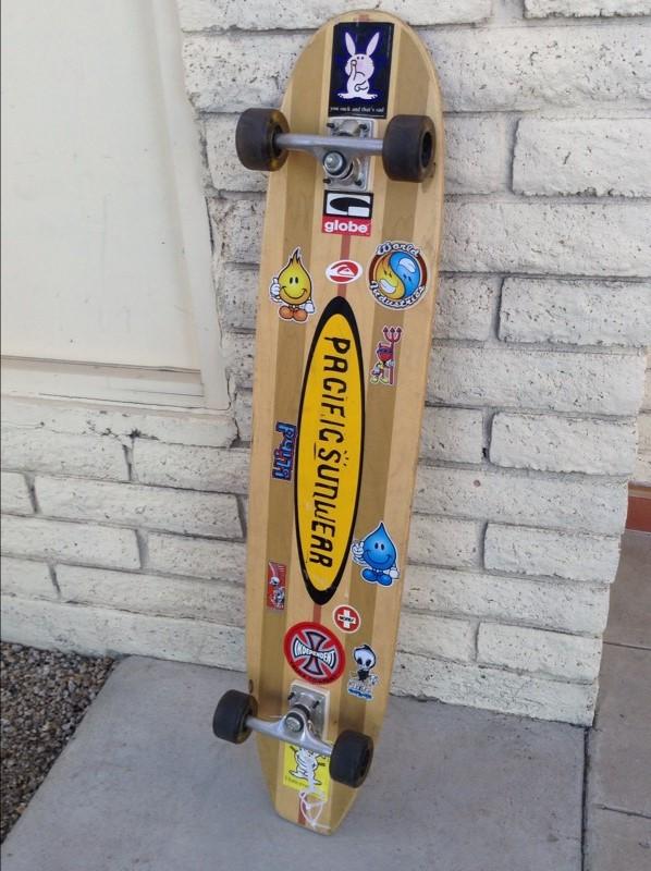 PACIFIC SUNWEAR Skateboard LONGBOARD