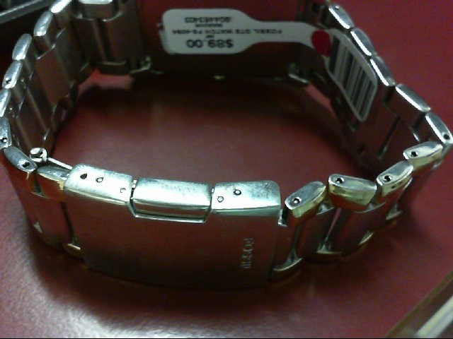 Fossil Gent's Wristwatch FS-4094 Stainless Steel