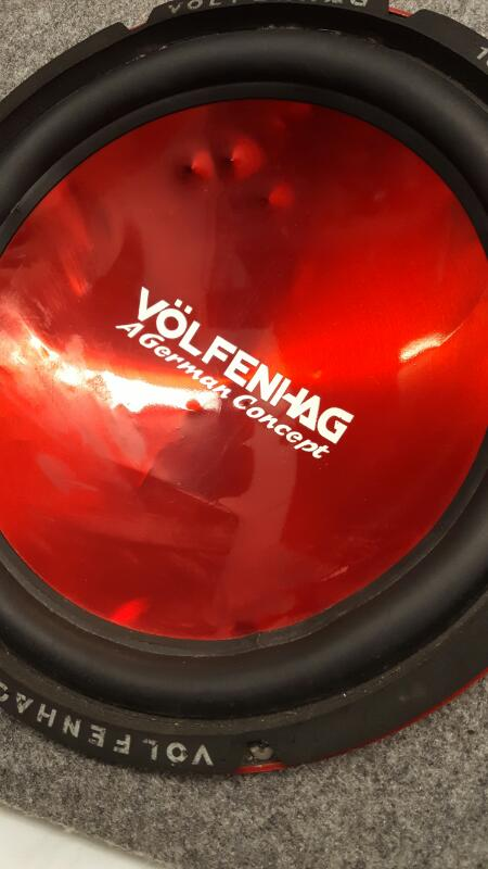 VOLFENHAG Car Speakers/Speaker System 12 SUBS