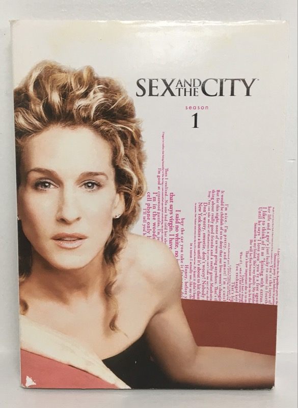 DVD BOX SET DVD SEX AND THE CITY S1