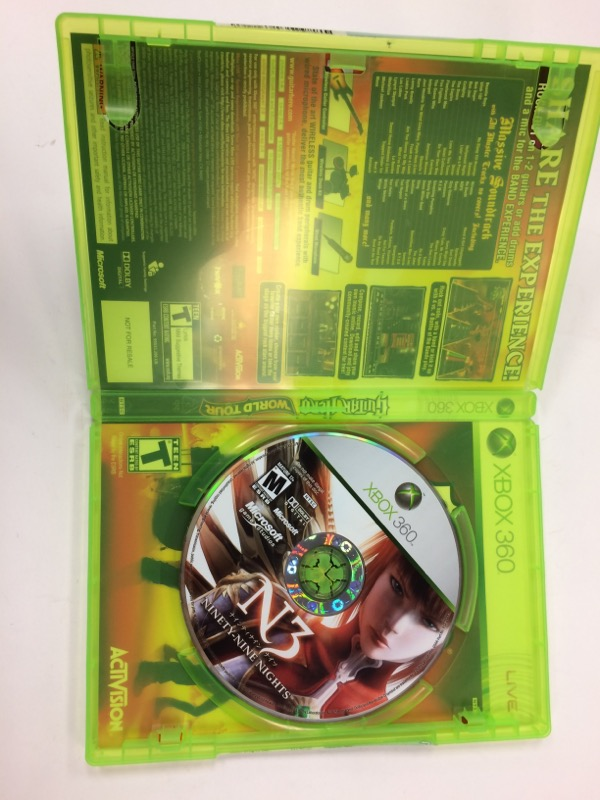 MICROSOFT Microsoft XBOX 360 Game N3 NINETY-NINE NIGHTS