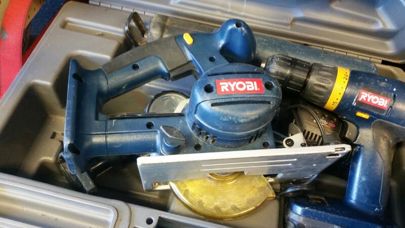 RYOBI Combination Tool Set 5PC 18V COMBO SET