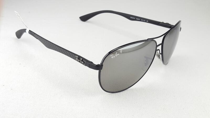 RAY BAN RB8313 Polarized Sunglasses w/Case