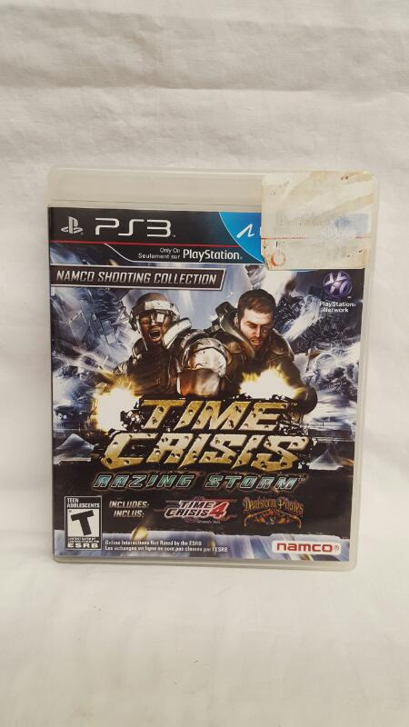 Sony PlayStation 3 Game TIME CRISIS RAZING STORM