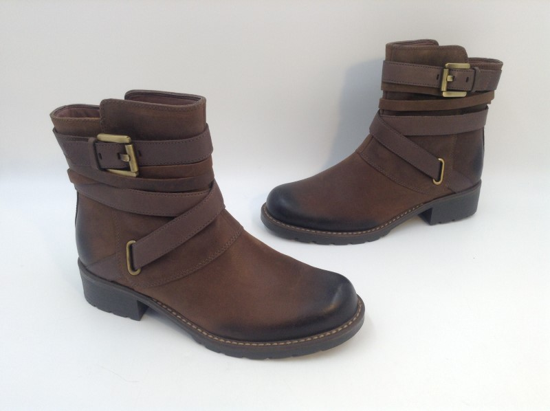 CLARKS Shoes/Boots BROWN BOOTS 66393
