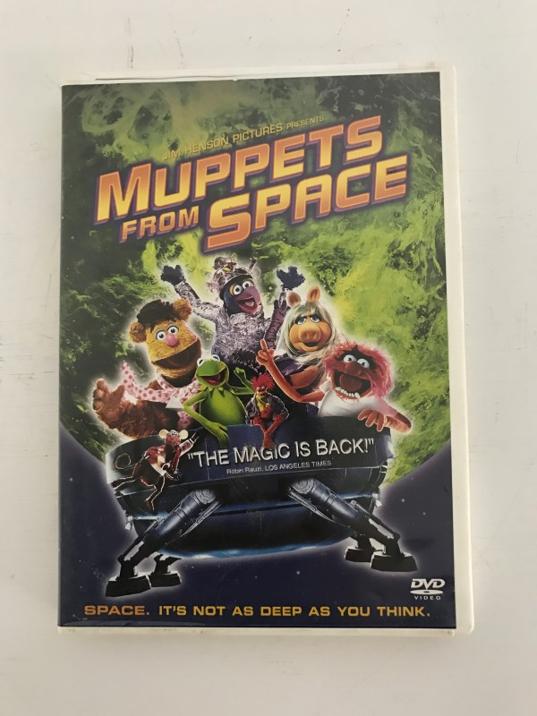 DVD MOVIE DVD MUPPETS FROM SPACE