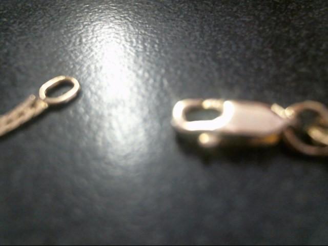 "20"" HERRINGBONE-PLAIN Gold Herringbone Chain 14K Yellow Gold 3dwt"