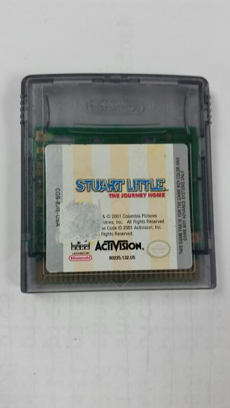 Stuart Little: The Journey Home (Nintendo Gameboy Color, GBC) CART ONLY