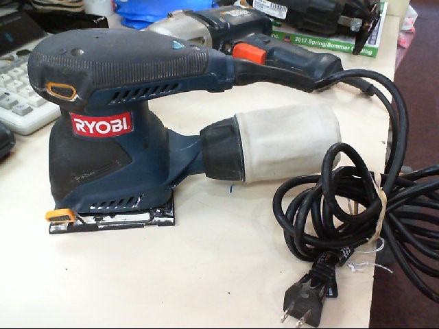 RYOBI S65D 1/4 SHEET SANDER
