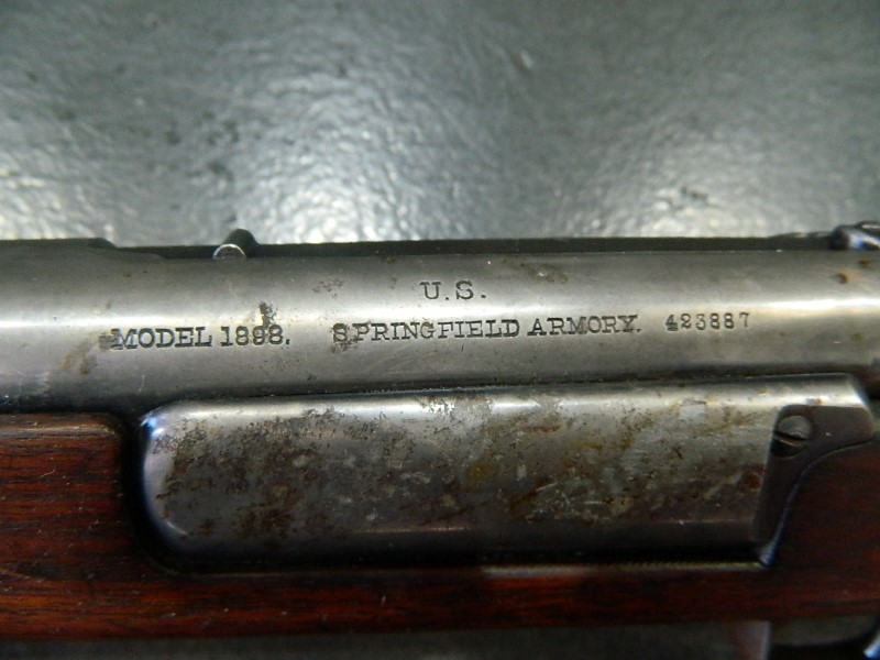 SPRINGFIELD ARMORY Rifle MODEL 1898