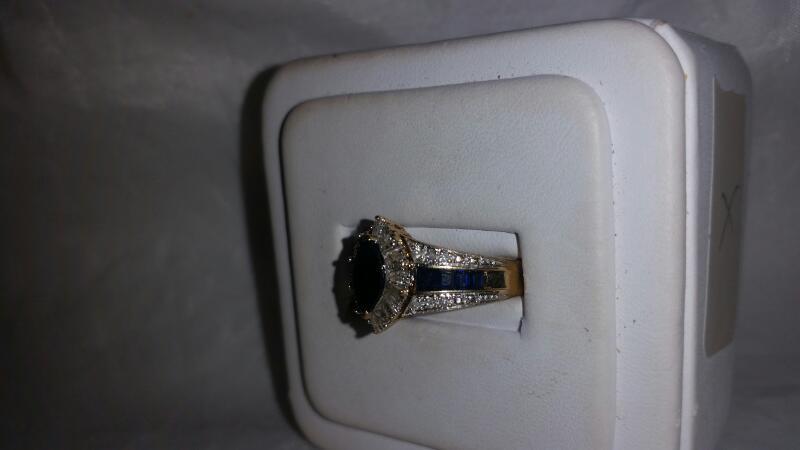 Lady's Diamond Fashion Ring 28 Diamonds .47 Carat T.W. 10K Yellow Gold 3.5g