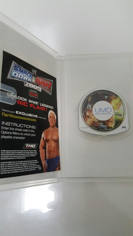 Sony PSP/UMD Game SMACK DOWN VS RAW 2009