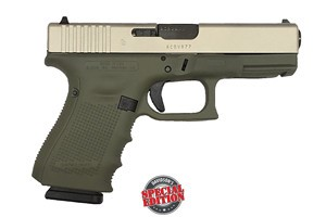 GLOCK 19 GEN 4 9MM FOREST GREEN