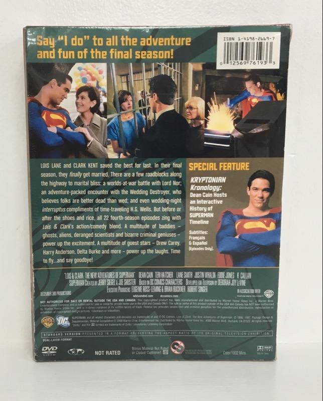 DVD BOX SET LOIS & CLARK: THE NEW ADVENTURES OF SUPERMAN SEASON 4