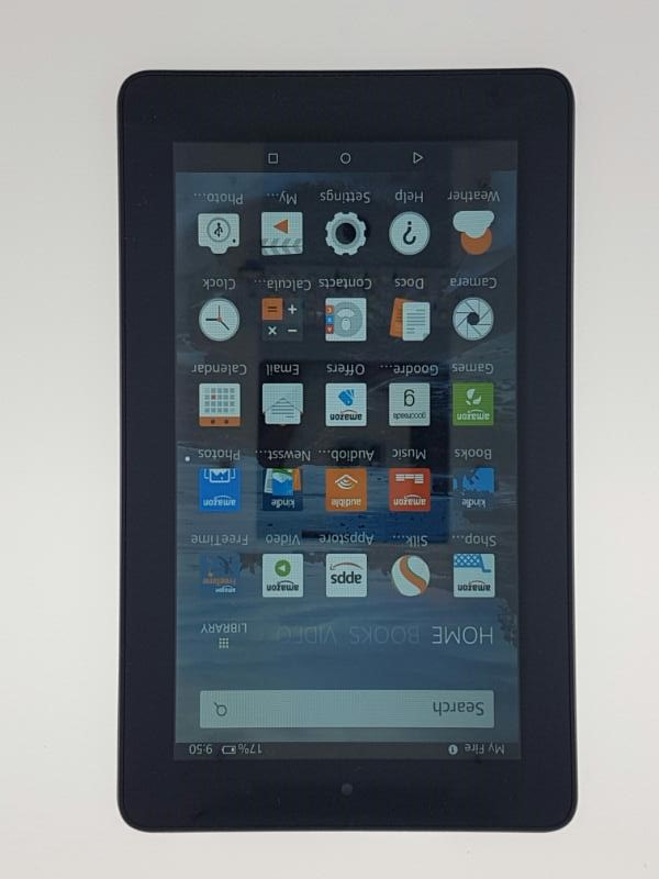 Amazon Kindle Fire (5th Generation) - Wi-Fi - 8 GB - Black - SV98LN