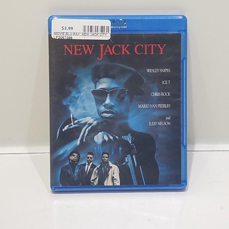 BLU-RAY NEW JACK CITY