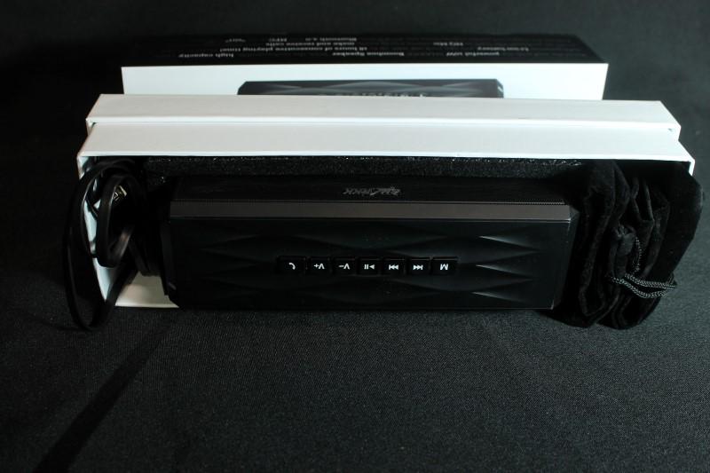 Sharkk Portable Boombox Speaker 869 Bluetooth