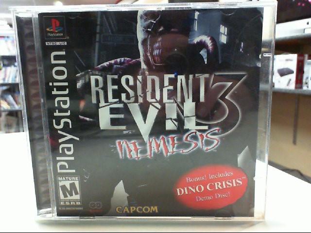Resident Evil 3 Nemesis - PS1 - Playstation 1