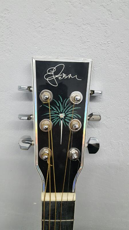 2008 Limited Edition Esteban Celebration Fireworks Acoustic/Electric Guitar