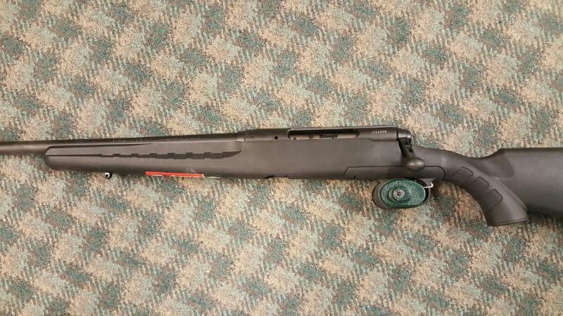 """SAVAGE ARMS AXIS 243 LEFT HAND, BOLT ACTION, BLACK MATTE, 22"""" - NEW"""
