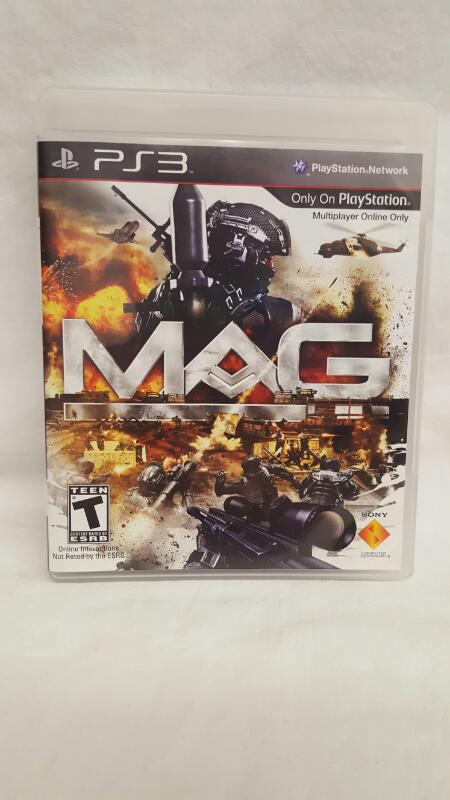 Sony PlayStation 3 Game MAG