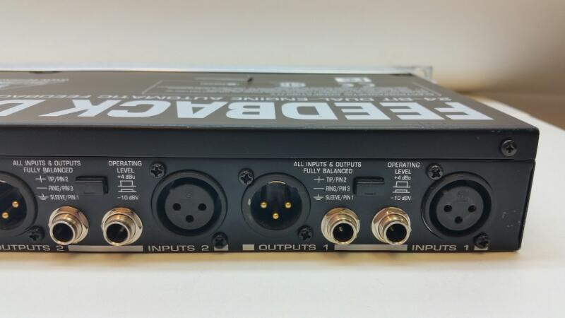 BEHRINGER FEEDBACK DESTROYER PRO 24 BIT DUAL ENGINE DSP1124P]