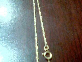 Gold Chain 14K Yellow Gold 0.9g