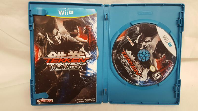 Nintendo Wii U Game TEKKEN TAG TOURNAMENT 2