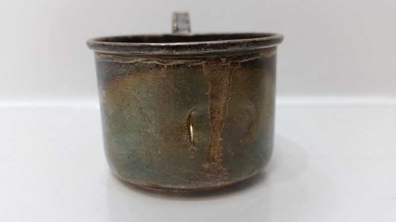 Antique Vintage Webster Sterling Silver Plain Baby Cup 4568 *NO MONO*